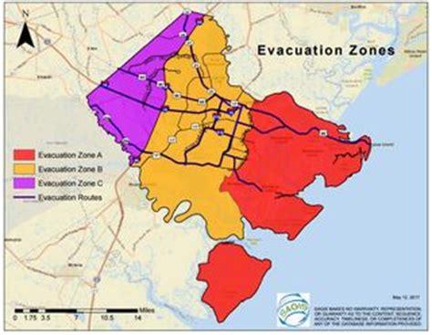 evacuation maps   chatham emergency management agency