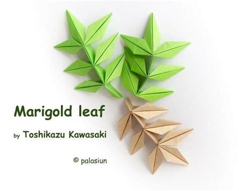 origami flower leaves 396 best origami leaves images on leaves