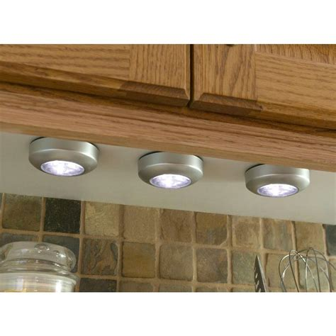 battery operated cabinet lights lowes inspirations lowes puck lights battery operated