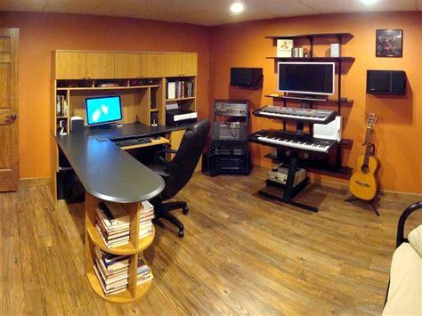 shaped desk man cave room bars  home game room
