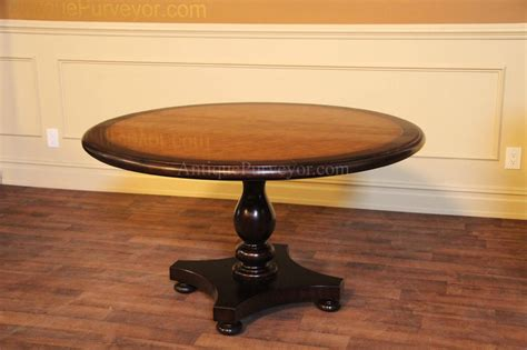 Kitchen Pedestal Table 54 Pine Center Table Kitchen Or Dining Table
