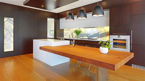 Modern Dining Table With Bench by 15 Beautiful Kitchen Island With Table Attached Home
