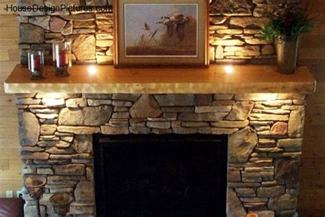 Wood Log Fireplace by Log Fireplace Mantels Housedesignpictures