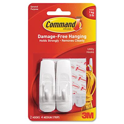 command damage free general purpose hanging hook clear safco 174 onyx panel door coat hook sunbelt paper packaging