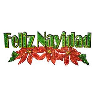 feliz navidad decorations shop living 1 2 3 ft feliz navidad outdoor