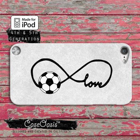 Handmade Cases For Your Laptop And Ipod by Soccer Infinity Symbol Custom Ipod