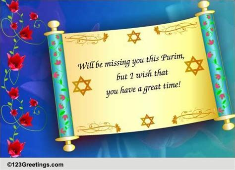 purim printable greeting cards missing you this purim free purim ecards greeting cards