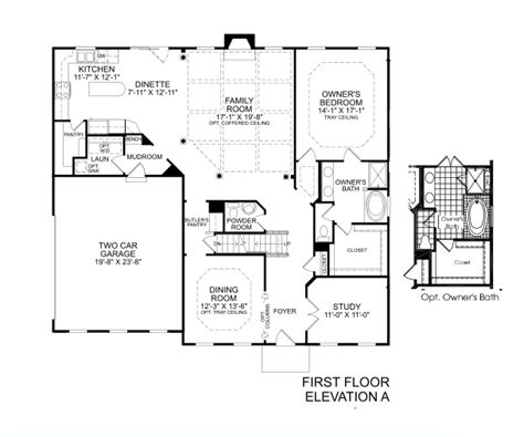 our home lincolnshire homes floor plan