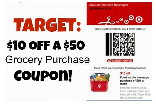 printable coupons for target grocery