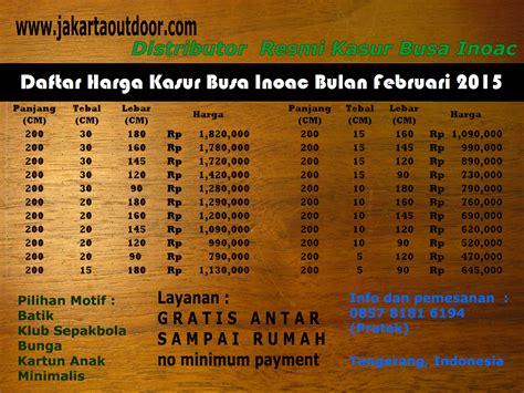 Kasur Busa Murah Di Bekasi distributor resmi kasur busa inoac januari 2015