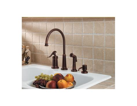 price pfister gt26 4ypk ashfield brushed nickel one handle faucet com gt26 4ypk in brushed nickel by pfister