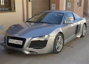diy builds audi r8 replica from mercury ford