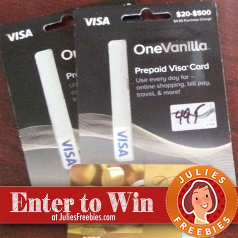 Using A Visa Gift Card - win a 200 visa gift card julie s freebies