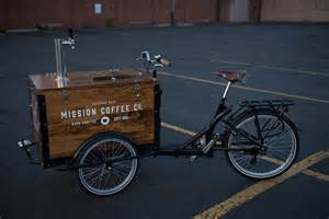 The icicle tricycles cold brew coffee bike nitro tap cold brew coffee