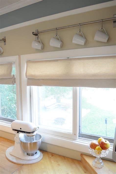 Valances For Kitchen Windows Mini Blinds To Roman Kitchen Shades And Curtains