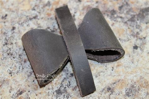 doodle leather combination doodlecraft leather bow bracelet