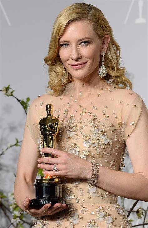 best actress for oscar cate blanchett wins best actress oscar for blue jasmine