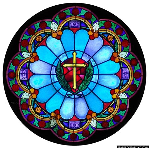 stained glass cross l stained glass windows cross www pixshark com images
