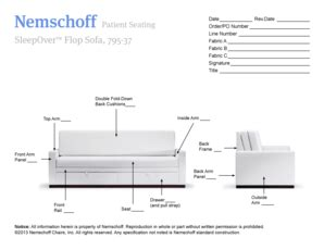 nemschoff sleepover flop sofa fillable dol 11 1347 doc dol fax email print