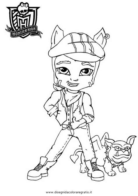 Monster High 90 Films D Animation Coloriages 224 Imprimer High Coloring Pages Baby
