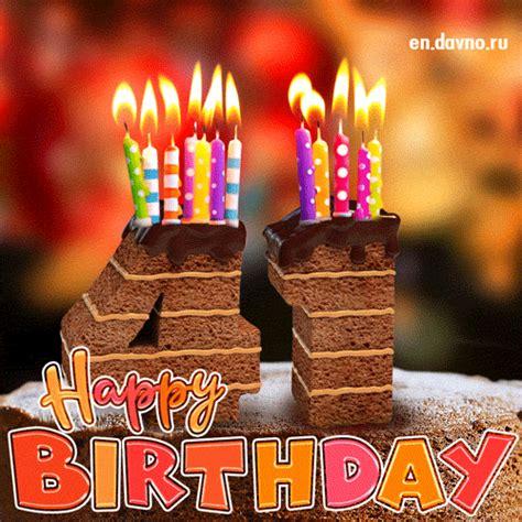 st birthday card chocolate cake  candles   funimadacom