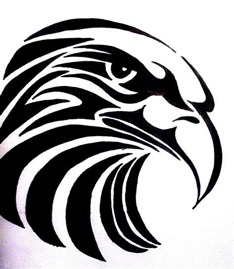 tattoo eagle tribal tribal eagle by bogi90 on deviantart