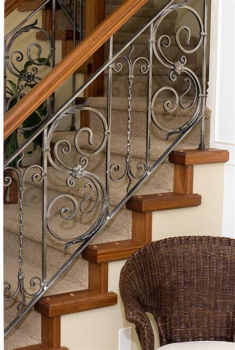 iron banisters and railings iron stair rails and banisters sylvan s custom iron