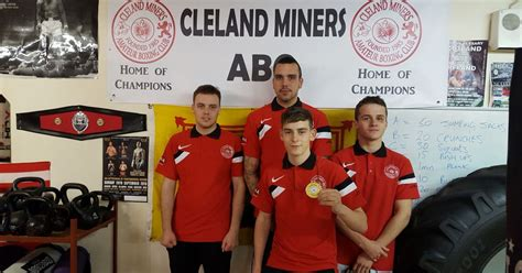 cleland miners boxing kids show   stars