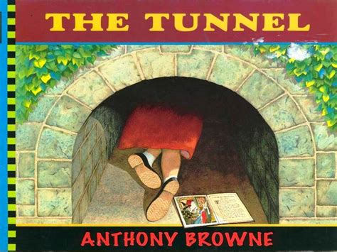 the tunnel picture book the tunnel book reading with subtitles
