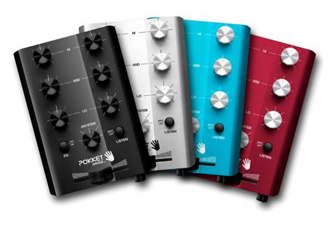 mini console dj news pokket mixer la mini console pour dj audiofanzine