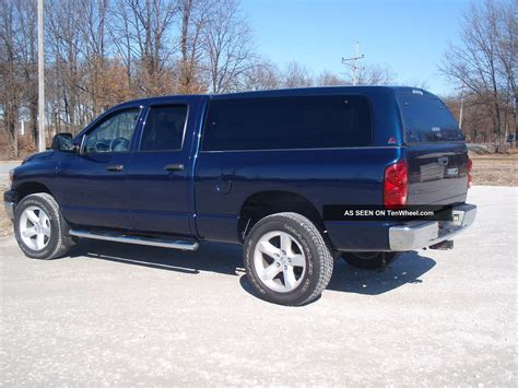 Dodge Ram Bed by 2007 Dodge Ram 1500 St 4x4 Bed Cab Tow