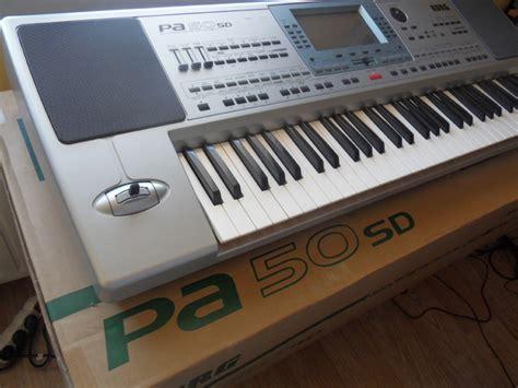 tutorial keyboard korg pa50 sd korg pa50sd image 507034 audiofanzine