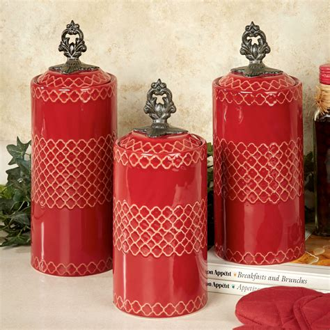 red kitchen canister sets ceramic canisters amusing canister sets outstanding canister
