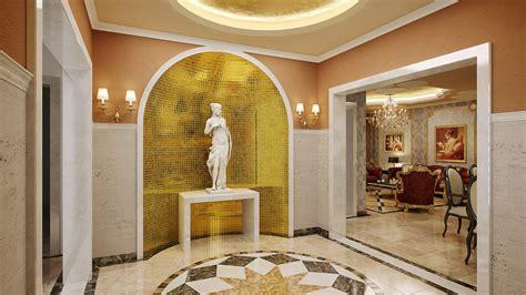 entrance living room  behance