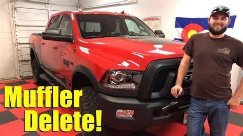 listen    ram power wagon    muffler delete video  fast lane truck