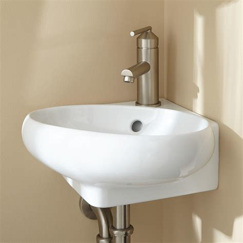 adella corner wall mount bathroom sink bathroom