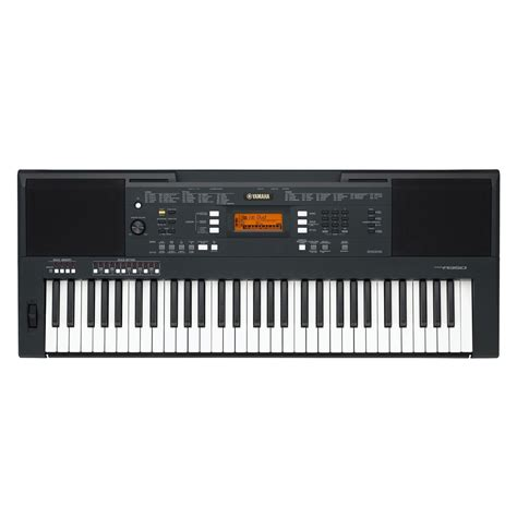 Tas Keyboard Yamaha Psr Seri S yamaha psr a350 portable keyboard black at