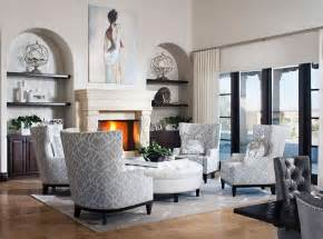 Big Chair And Ottoman Design Ideas 47 Beautiful Living Rooms With Ottoman Coffee Tables