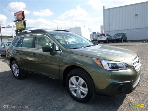 subaru outback 2016 green 2016 wilderness green metallic subaru outback 2 5i