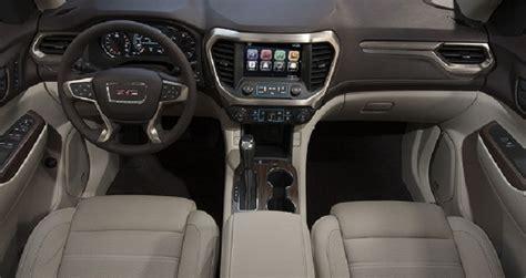 Gmc Acadia Denali Interior by 2018 Gmc Acadia Denali Review And Price 2018 2019 The Newest Car Reviews