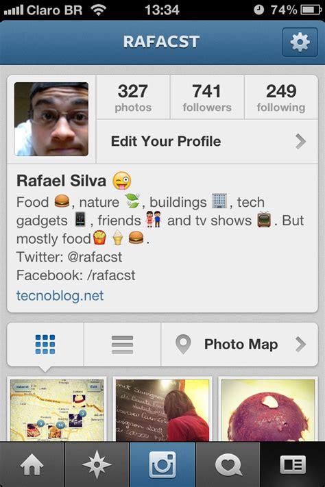 imagenes para perfil instagram instagram atualiza aplicativos para ios e android com mapa