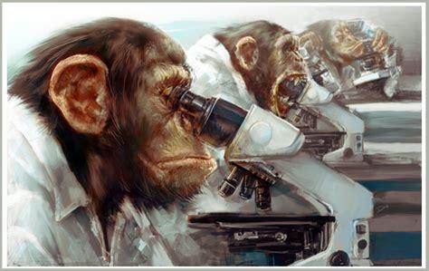 evolution from scientist to monkey krishna org