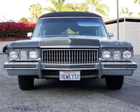 1973 Cadillac Hearse 1973 Miller Meteor Cadillac Hearse Electric 3 Way Funeral