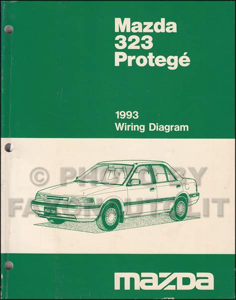 vehicle repair manual 1993 mazda protege regenerative 1993 mazda 323 and protege repair shop manual original