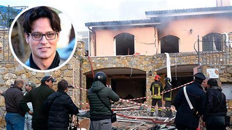 casa di gabriel garko esplode la casa di gabriel garko ed 232 lutto nel mondo