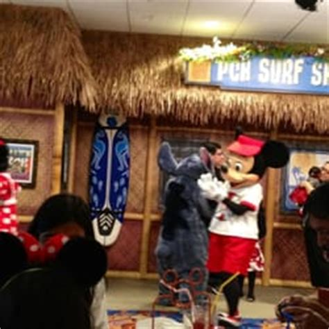Surf S Up Breakfast With Mickey And Friends At Pch Grill - surf s up breakfast with mickey and friends 121 billeder amerikansk anaheim