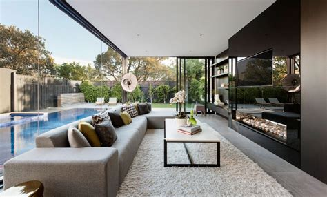 home interior design melbourne curva house by lsa architects interior design in