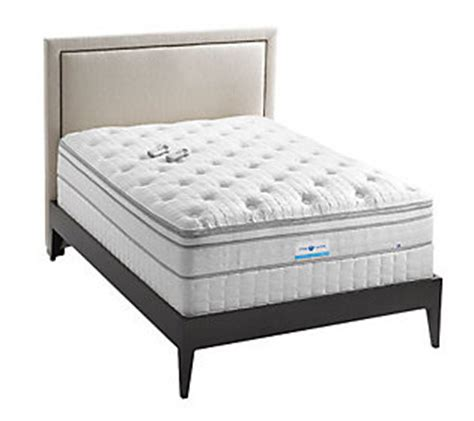 full size sleep number bed sleep number pearl full size bed set byselectcomfort qvc com