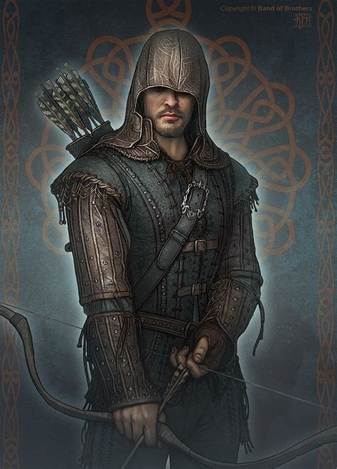 robin hood characters on behance
