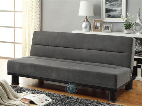 elegant futon callie grey elegant futon from homelegance 4823gp